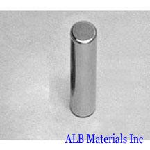 ALB-CN0311 Neodymium Cylinder Magnet