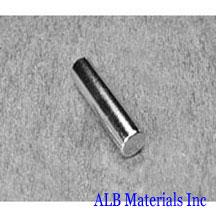 ALB-CN0312 Neodymium Cylinder Magnet