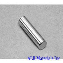 ALB-CN0313 Neodymium Cylinder Magnet