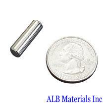 ALB-CN0314 Neodymium Cylinder Magnet