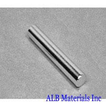 ALB-CN0317 Neodymium Cylinder Magnet