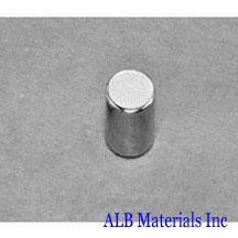 ALB-CN0322 Neodymium Cylinder Magnet