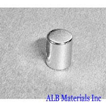 ALB-CN0327 Neodymium Cylinder Magnet