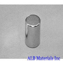 ALB-CN0330 Neodymium Cylinder Magnet