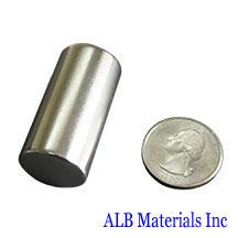ALB-CN0364 Neodymium Cylinder Magnet