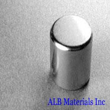 ALB-CN0370 Neodymium Cylinder Magnet