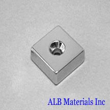 ALB-CN0754 Neodymium Countersunk Magnet