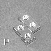 ALB-CN0757 Neodymium Countersunk Magnet