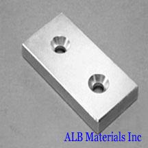 ALB-CN0765 Neodymium Countersunk Magnet