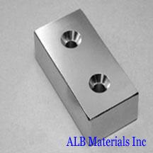 ALB-CN0766 Neodymium Countersunk Magnet