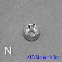 ALB-CN0768 Neodymium Countersunk Magnet