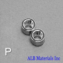 ALB-CN0770 Neodymium Countersunk Magnet