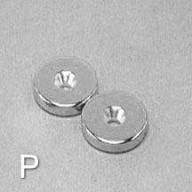 ALB-CN0779 Neodymium Countersunk Magnet