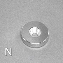 ALB-CN0781 Neodymium Countersunk Magnet