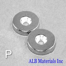 ALB-CN0782 Neodymium Countersunk Magnet