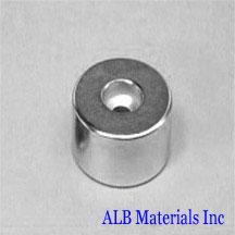 ALB-CN0787 Neodymium Countersunk Magnet