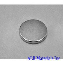 ALB-DN0180 Neodymium Disc Magnet