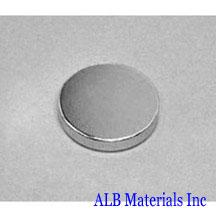 ALB-DN0182 Neodymium Disc Magnet