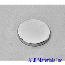 ALB-DN0215 Neodymium Disc Magnet