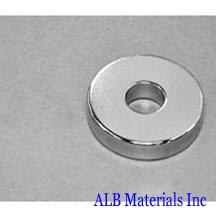 ALB-RN0722 Neodymium Ring Magnet